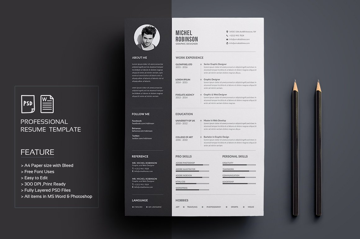 Resume CV and cover letter