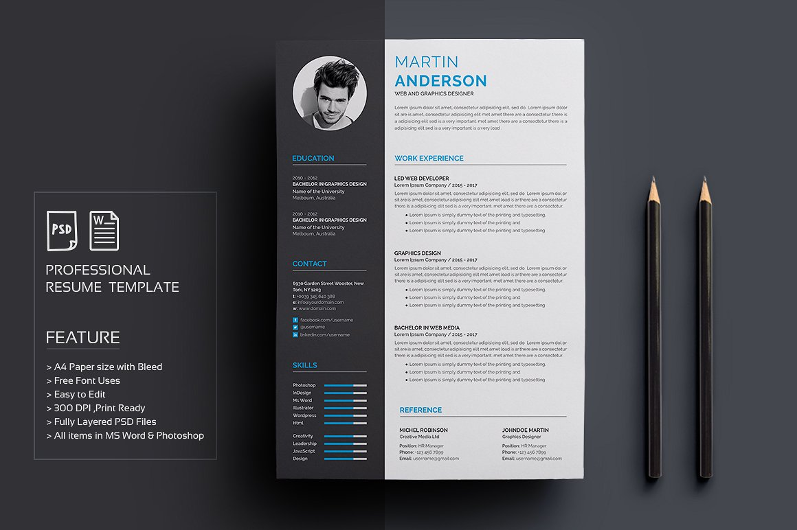 Resume CV Clean and Simple