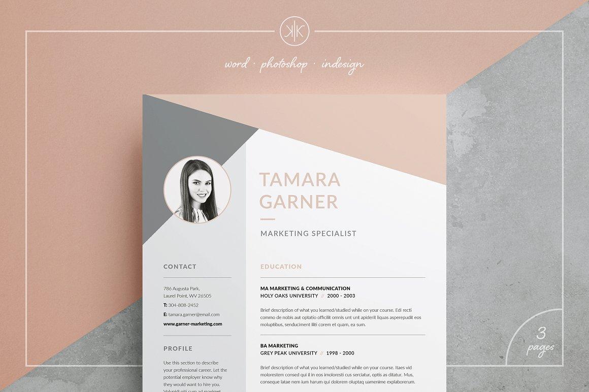 Resume CV Tamara
