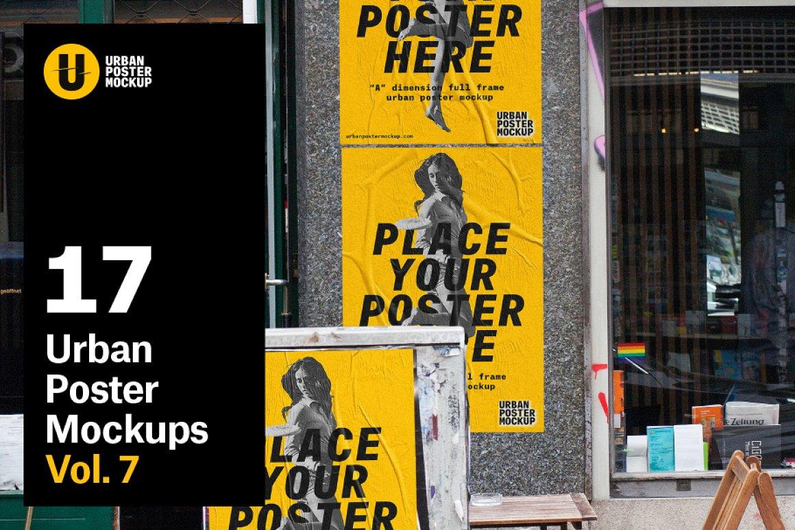 Urban Poster Mockup VOL7