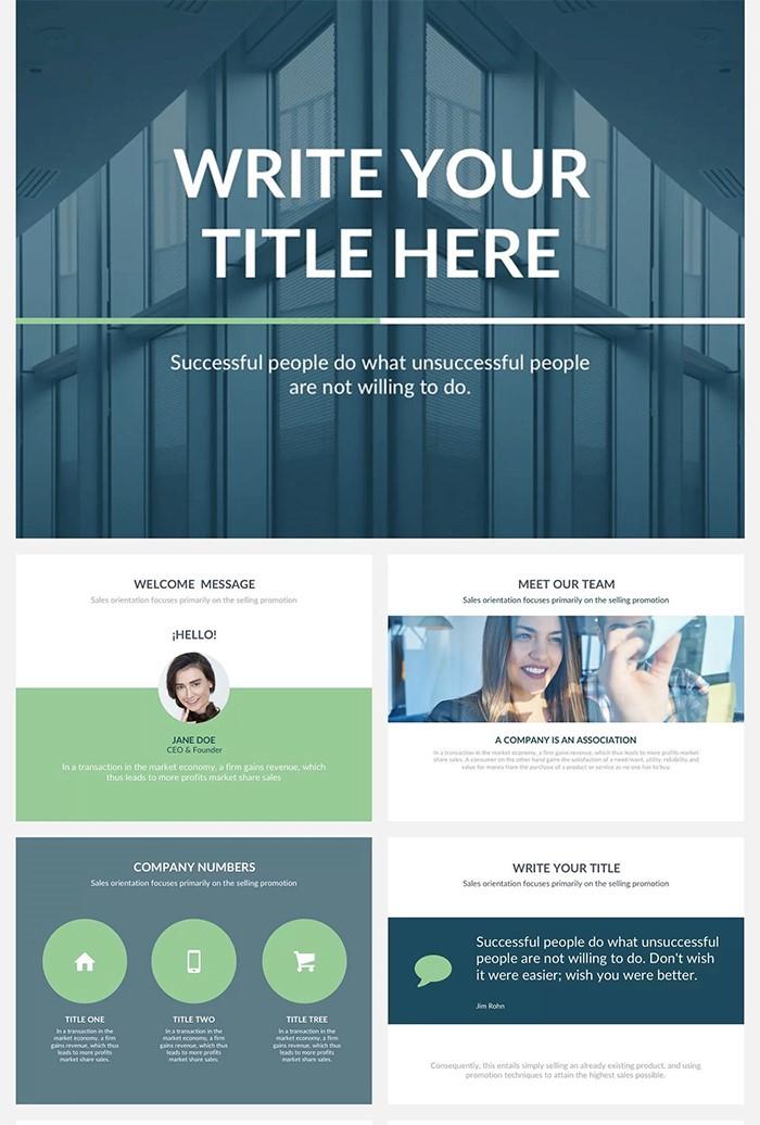 alpha-presentation-template