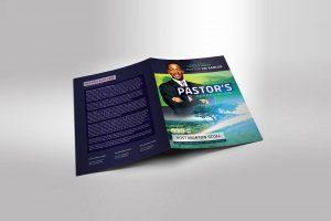Pastor Anniversary Program Templates