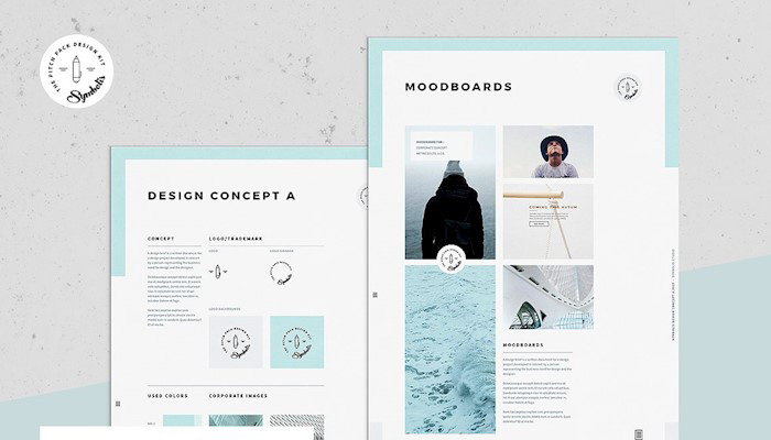 Brand Board Templates for Your Blog