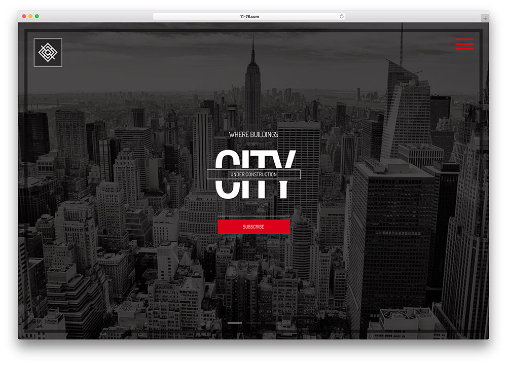 City II Responsive Coming Soon Page