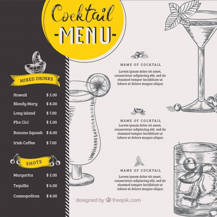 cocktail-menu-template-in-hand-drawn