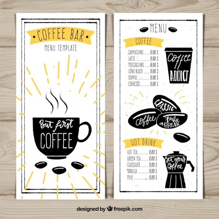 coffee-bar-menu-design