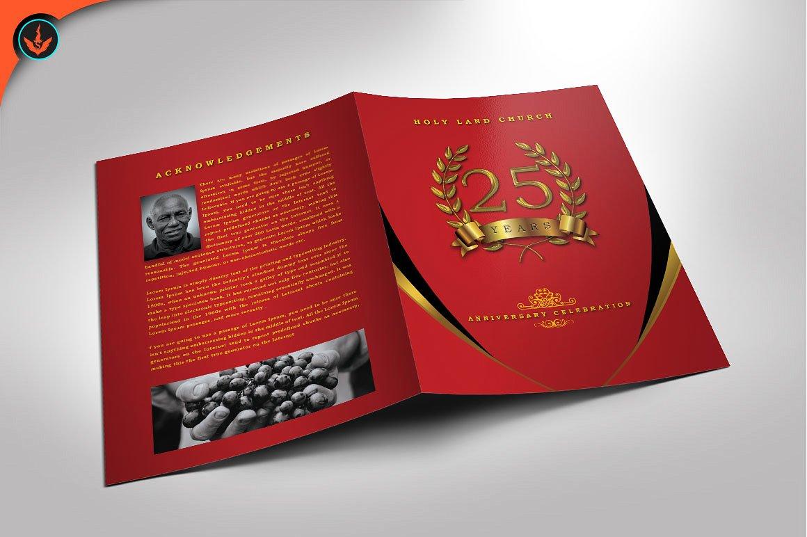 Crimson and Gold Anniversary Program
