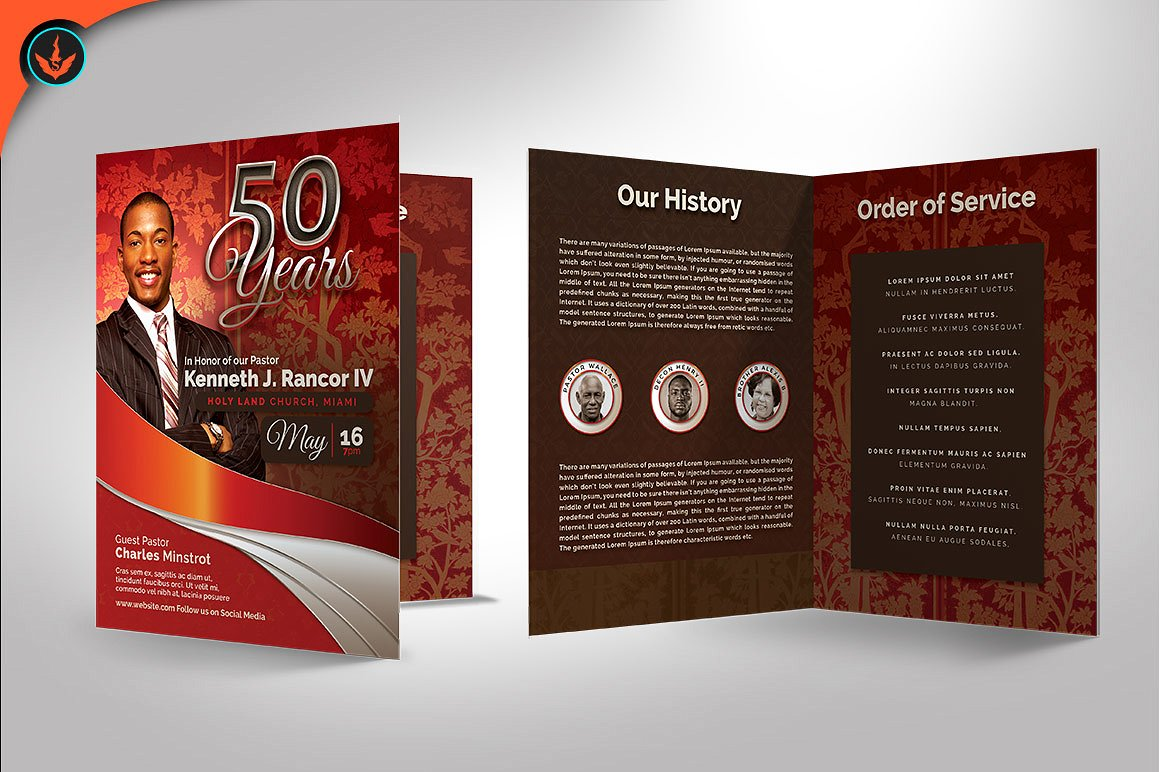 Crimson Pastors Anniversary Program