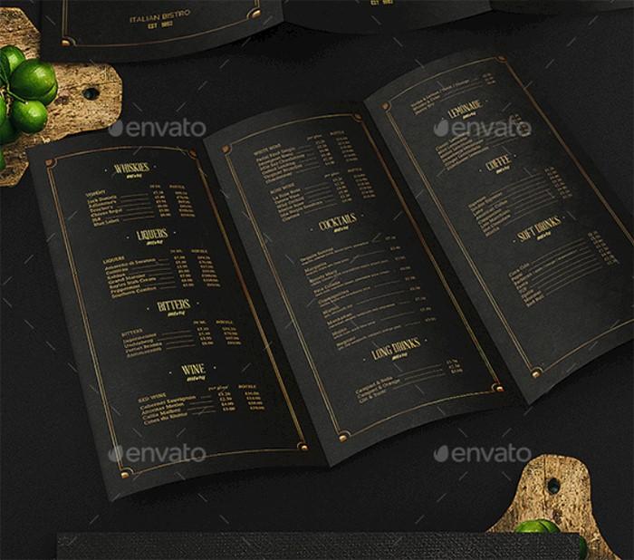 dark-gold-drinks-menu