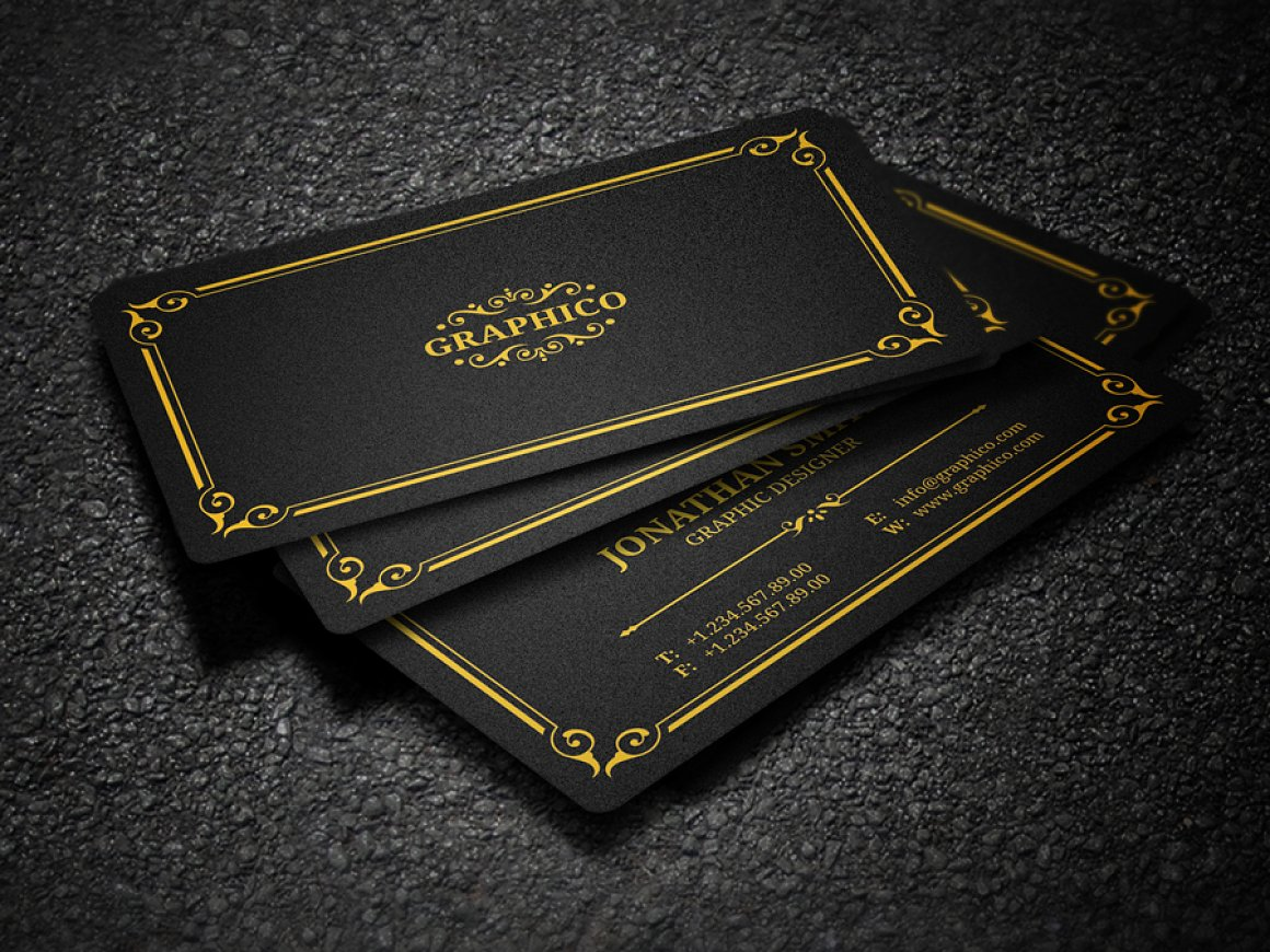 Elegant Vintage Business Card 37