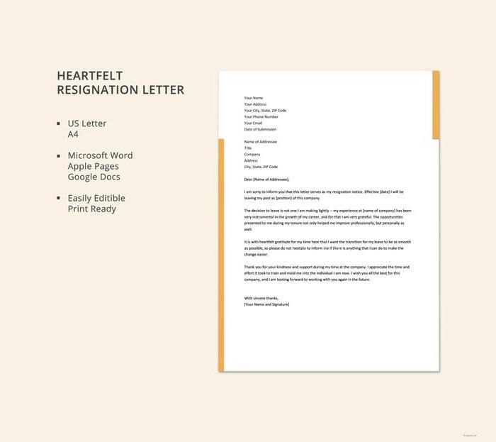 heartfelt-resignation-letter
