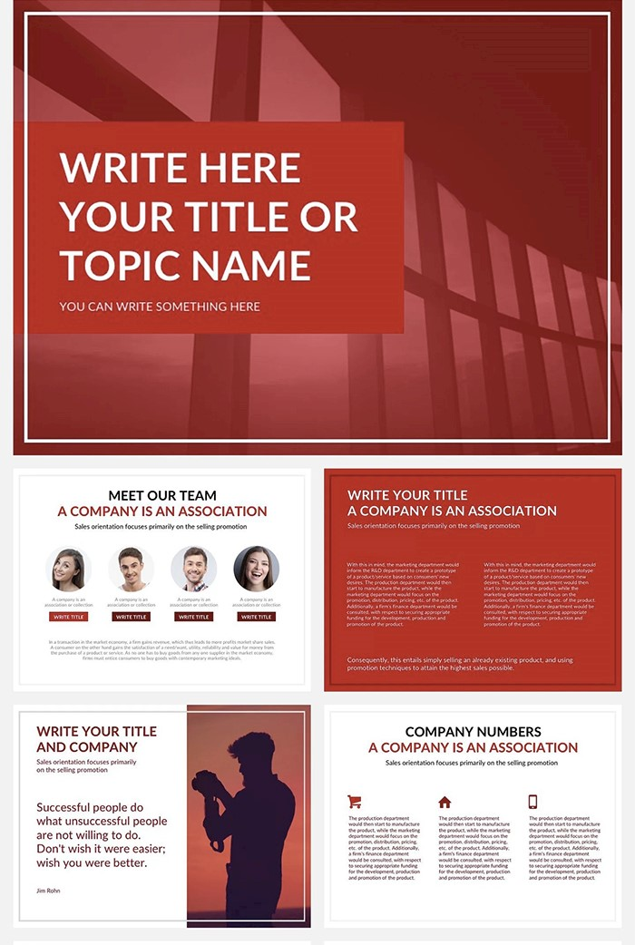 launch-presentation-template