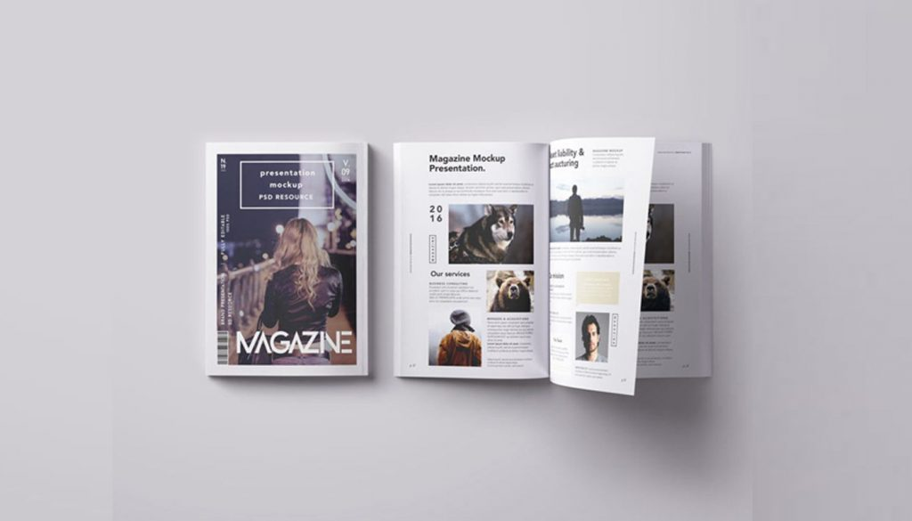 25 best free magazine mockup templates 2018  updated