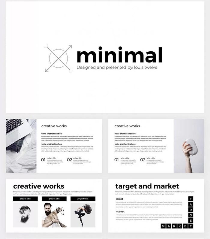 minimal-free-google-slides