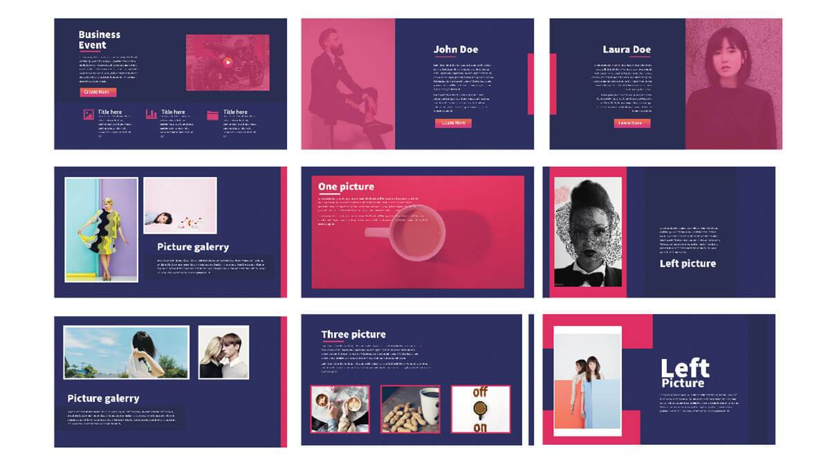 50 best free powerpoint templates for presentations for Minimalist powerpoint template free