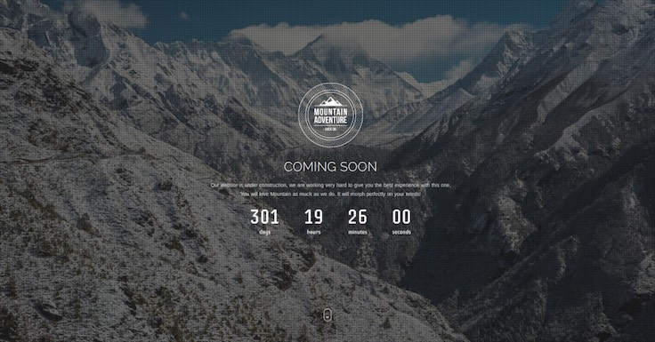 Mountain Responsive Coming Soon
