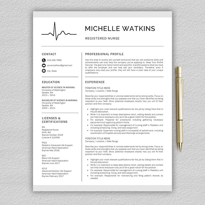 nurse-resume-medical-cv