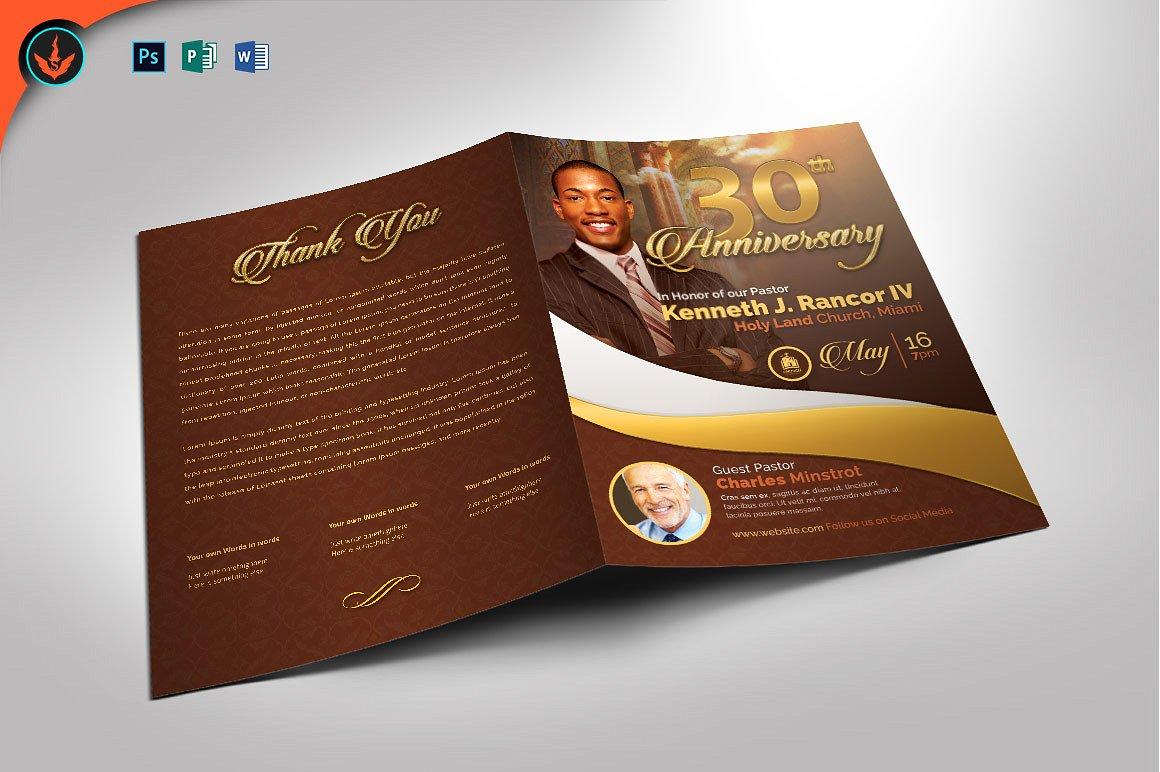 Pastors Anniversary Program