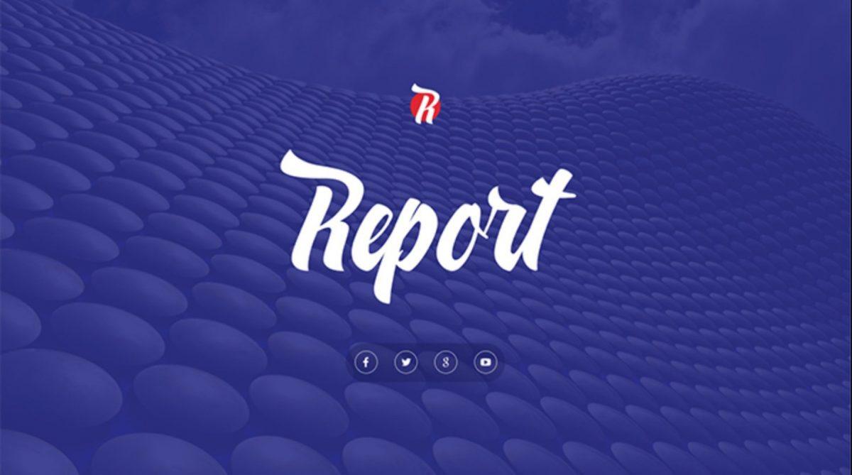 Report Biz Free Powerpoint Templat
