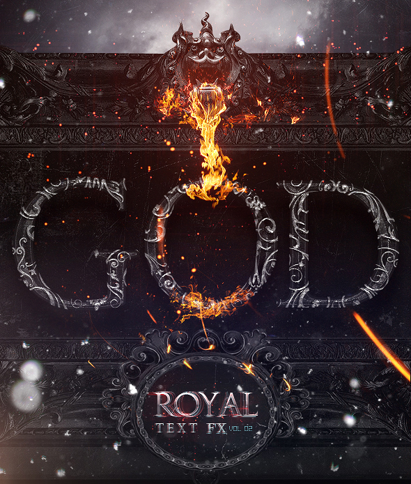 Royal Photoshop Text FX Vol 02