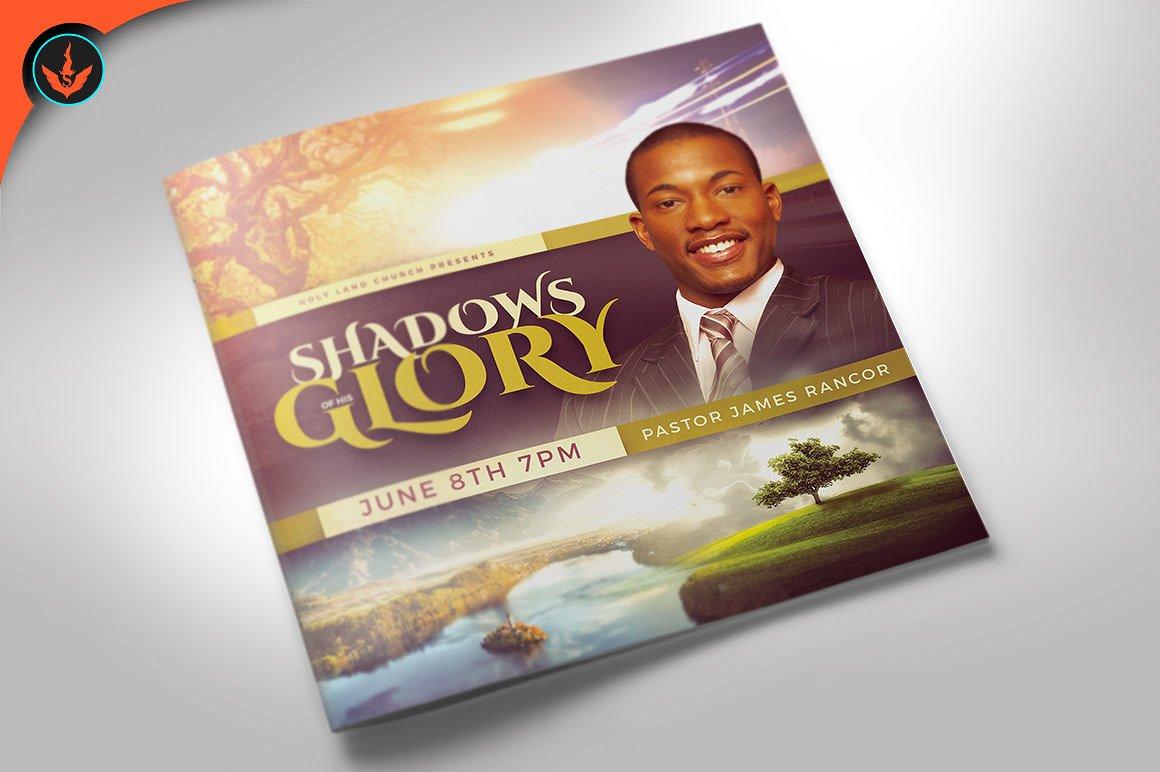 Shadows of His Glory Church Bulletin