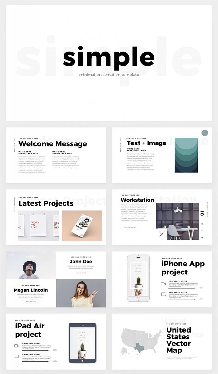 Keynote Template For Iphone App