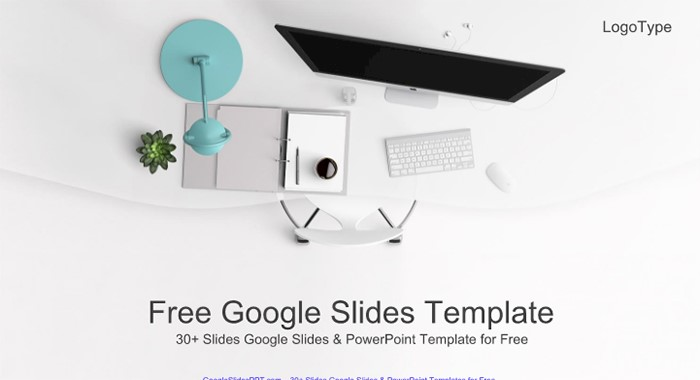 top-view-of-office-supplies-google-slides