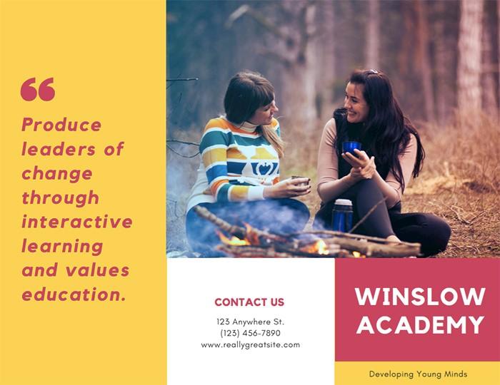 academic-brochure