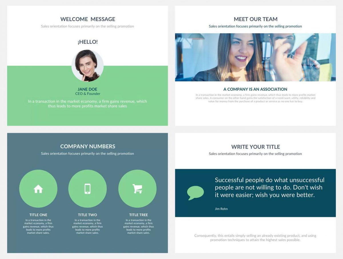 Alpha free Presentation Template