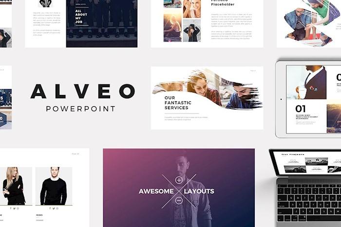 alveo-minimal-powerpoint-template