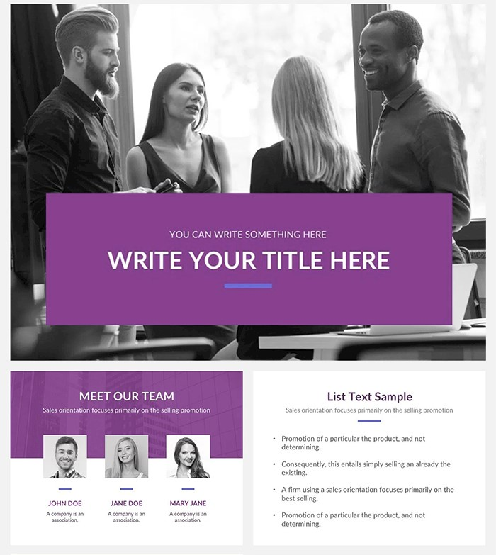 authentic-presentation-template