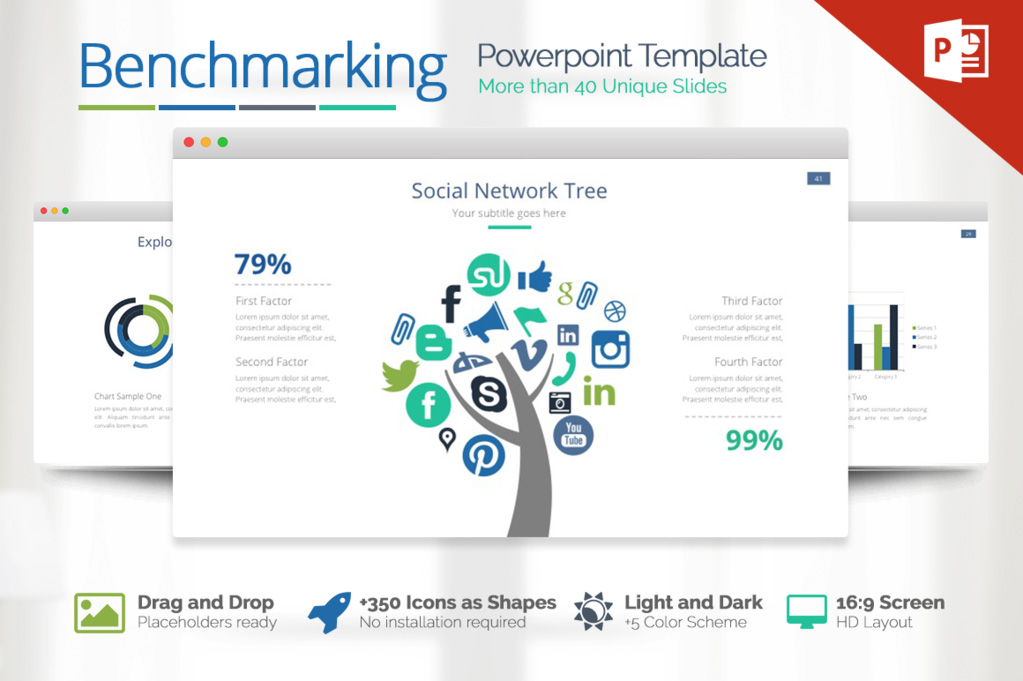 best Benchmarking Powerpoint Template