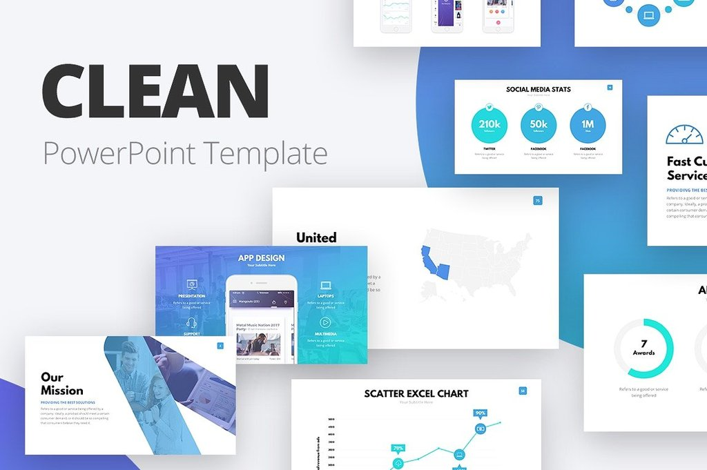 25 Best Powerpoint Templates For 2018 Mashtrelo