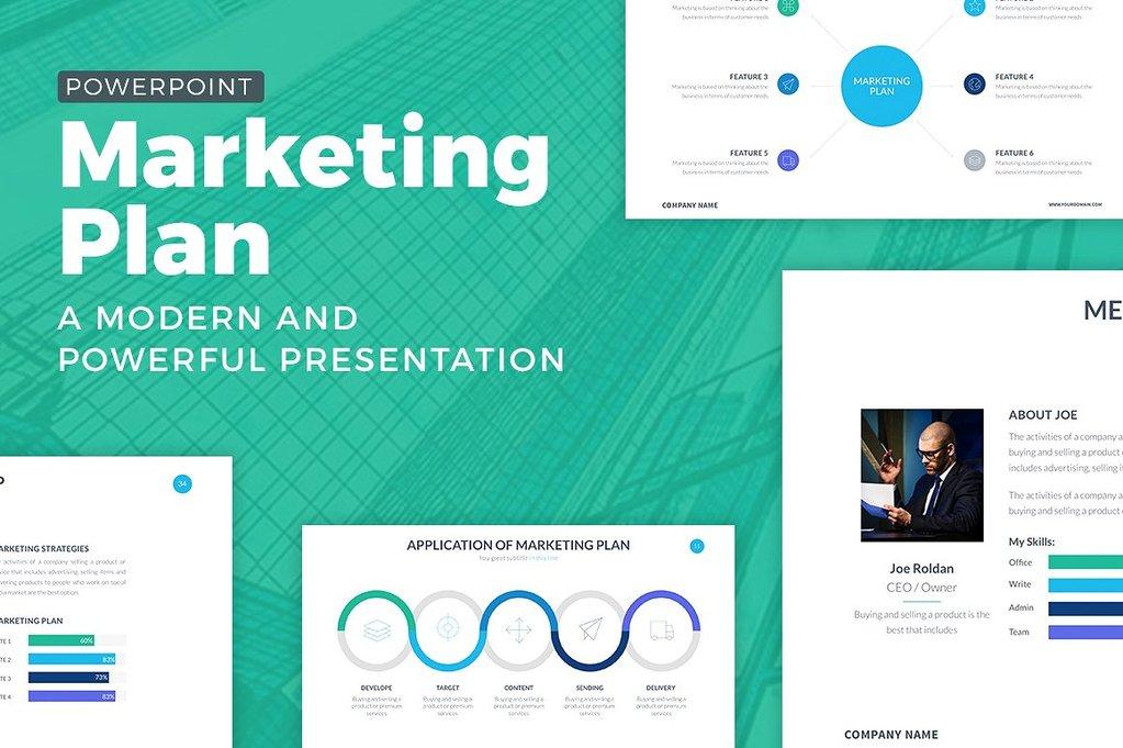 best Marketing Plan Powerpoint Template