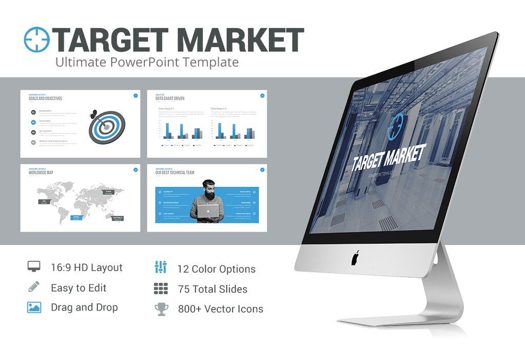 best Target Market Powerpoint Template