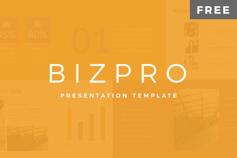 BizPro Free Google Presentation Template