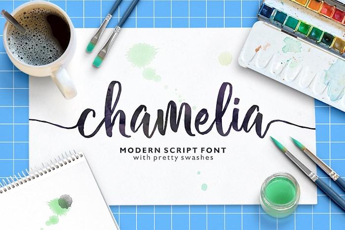 chamelia-script
