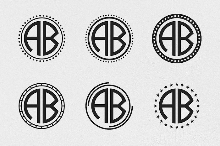 circle-monogram-font-kit