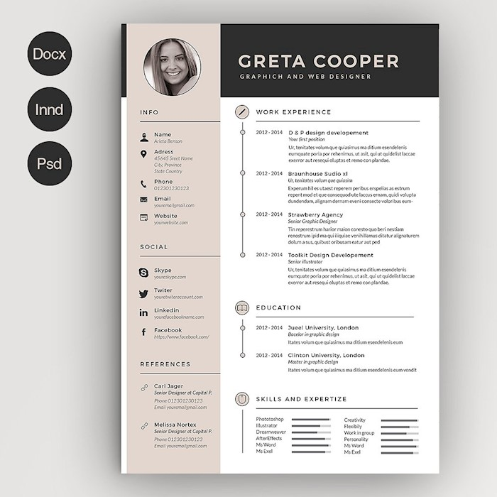 clean-cv-resume-ii