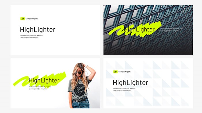 company-report-highlighter-powerpoint