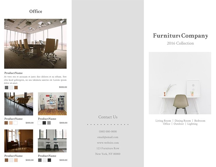 contemporary-furniture-brochure-template