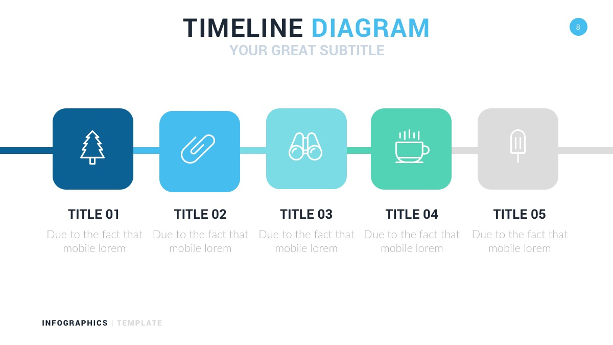 creative diagram powerpoint template