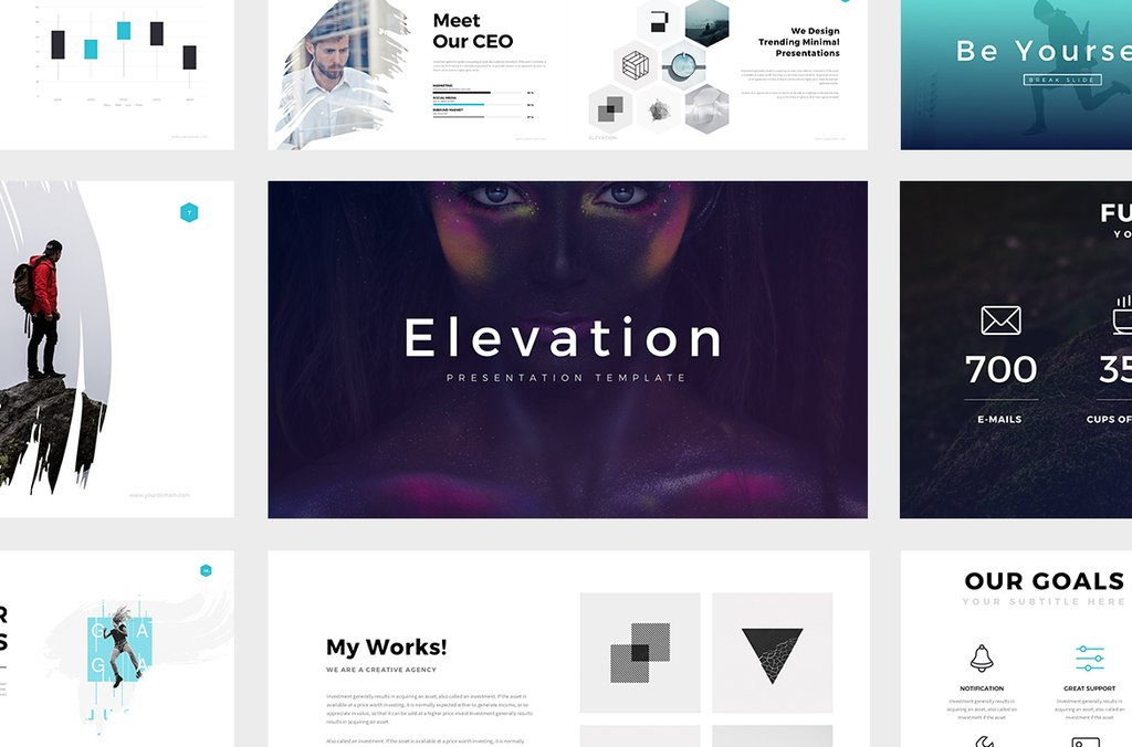 Elevation Powerpoint Template