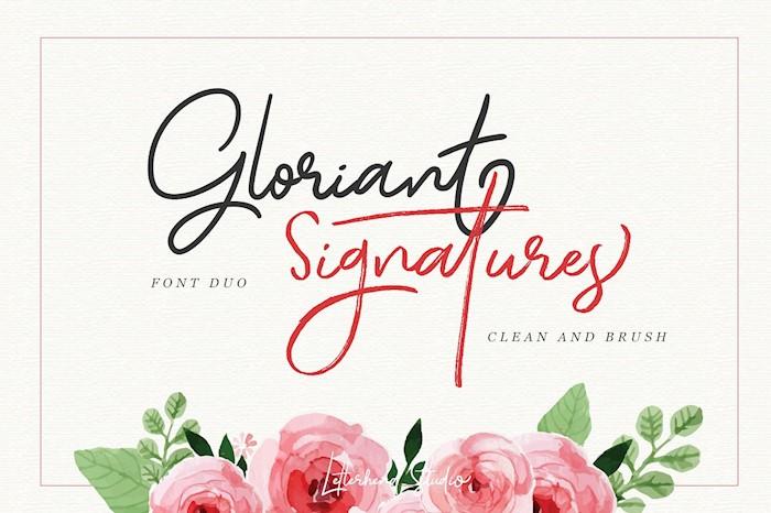 gloriant-signature-script
