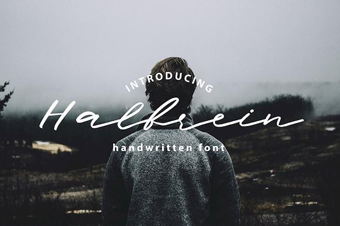 halbrein-handwritten-script