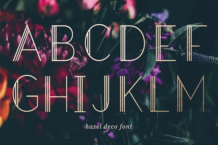 hazel-deco-font