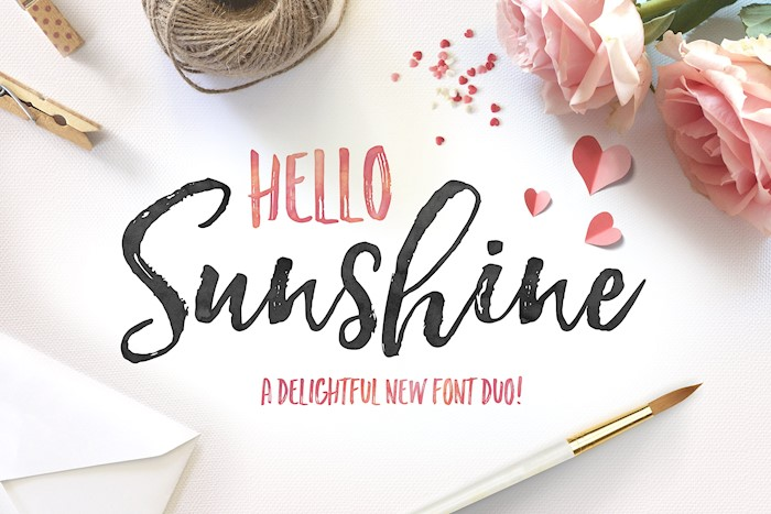 hello-sunshine-font-duo