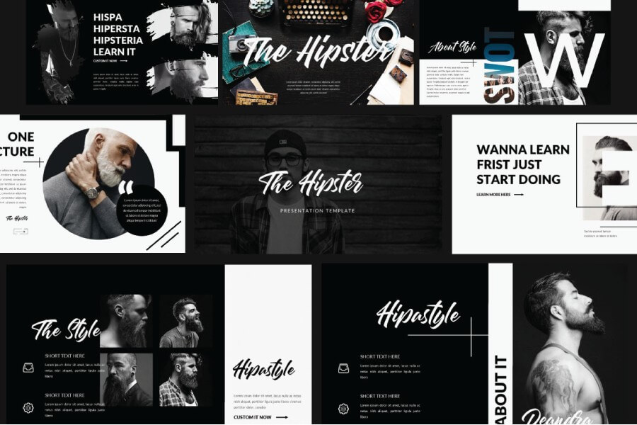 hipster-free-powerpoint-template