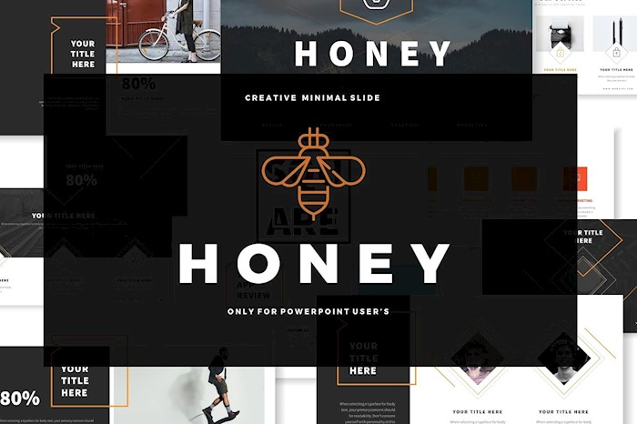honey-business-powerpoint-template