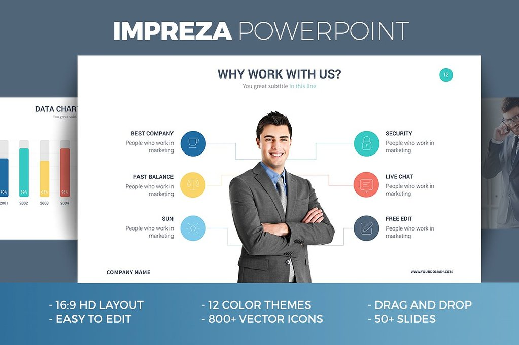 Impreza Powerpoint Template